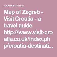 Uvala Smočiguzica Croatia Pinterest - Croatia interactive map