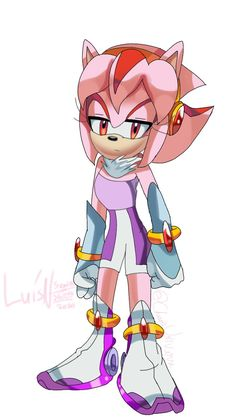 Maria The Hedgehog, Sonic The Hedgehog, Sonic Fan Characters, Fictional Characters, Maria Rose, Amy Rose, Miraclous Ladybug, Universe Art, Archie Comics