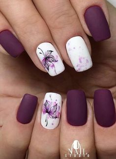 -Acrylic short square nails design for summer nails, Short square nails color ideas, Natural gel short square nails design, Pretty and cute acrylic nails design Cute Acrylic Nail Designs, Cute Acrylic Nails, Cute Nails, Pretty Nails, Summer Acrylic Nails, Short Gel Nails, Short Nails Art, May Nails, Hair And Nails