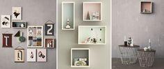 Estantería - vitrina Display Box Grey de ferm LIVING #estanteria #vitrina #fermLIVING #DisplayBox #Boxes #shelving #cajas #almacenaje #NovedadesFermLIVING #decoration #decoracion