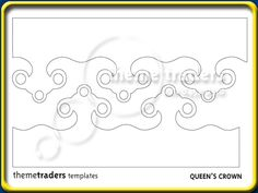 Image result for gumpaste tiara template