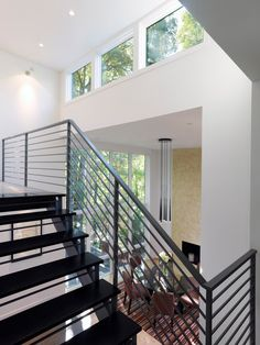 Steel Staircase Design, Pictures, Remodel, Decor and Ideas - page 12