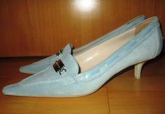 * * * SERGIO ROSSI Wildlederpumps hellblau, Gr.40 * * * | eBay Sergio Rossi, Pumps, Kitten Heels, Ebay, Shoes, Fashion, Clothing Accessories, Ladies Shoes, Light Blue