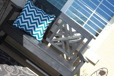 Woven Back Bench | Do It Yourself Home Projects from Ana White