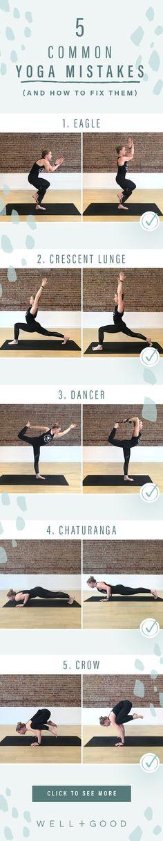 Common Yoga Mistakes