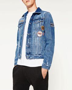 Denim Shirt Men, Denim Jacket Men, Denim Man, Jean Jacket Outfits, Love Jeans, Zara Man, Men Looks, Street Wear, Menswear