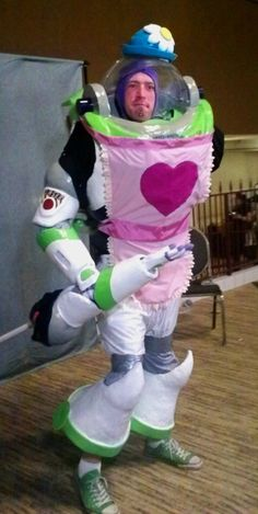 the best buzz lightyear costume I have ever seen!!