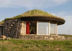 The winning of Channel Four's Grand Designs Home of the Year 2008 is a stunning eco-home in Scottish's Harris Islands and is up for sale, unfortunately selling at a fraction of the rebuilding price.