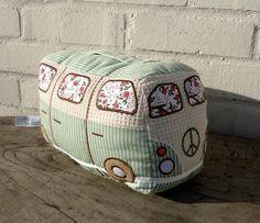 Door Stop - Camper Van Design Wouldn't an old-fashion camper 5th wheel be cute too?