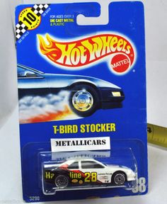 HOT WHEELS BENT BLUE CARD