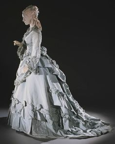 Day Dress, American, ca. 1875