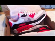 Nike Air Max 90's Infrared Retro 2010  Tune in to www.YouTube.com/joevenuto for limited edition and early release sneaker reviews. Like www.facebook.com/venutojoe to stay informed.