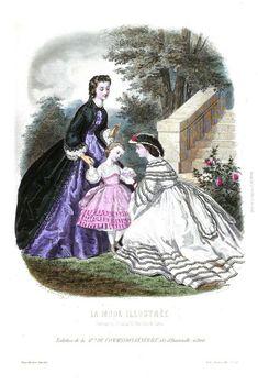 Civil War Fashion, Old Fashion Dresses, Civil War Dress, English Fashion, Victorian Costume, Contemporary Fashion, Fashion Plates, Old Pictures, Antique Dolls