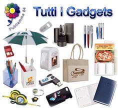 Gadgets personalizzati per aziende. Vastissima gamma di oggettistica e penne promozionali.