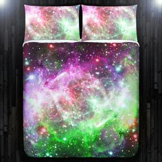 Galaxy Bed Cover Designs For Your Space Bedroom -