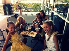 Chloe, Maddie, Paige, Clara, Brooke ,and Mackenzie