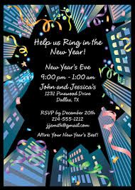 find the most unique and popular invitation designs for your new years eve or day party
