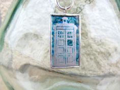 The Delicates: Silver TARDIS on the Deepest Blue