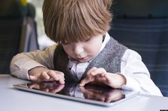 How Much Technology Should You Let Your Child Use?How is using iPads different to TV and is it better or not? Interesting read here.