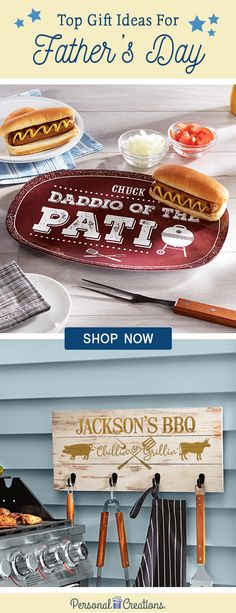 Father's Day is June 16th! Make Dad's day with a gift you personalized just for him. Shop now and save 15%!