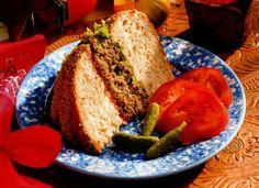 Vegetarian Burger Sandwich Recipe