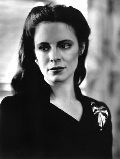 "Madeleine Stowe en ""Los Dos Jakes"" (The Two Jakes), 1990"