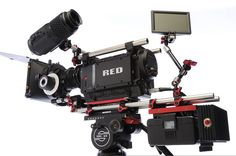 My favorite camera to shoot on, the RED ONE cinema camera.
