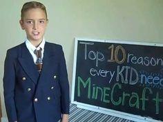 Top 10 Reasons Every Kid Needs MineCraft