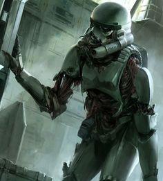 Zombie stormtrooper