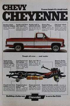 Chevrolet Truck Vintage Ad