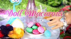 yummy and easy to make Doll Macarons!! Enjoy! Our Second Channel: http://www.youtube.com/createsomethingfab Buy a My F...