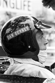 Dan Gurney, a true American racing legend.