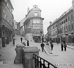 Bratislava Slovakia, Old City, Street View, Times, Places, Photography, City, History, Fotografie