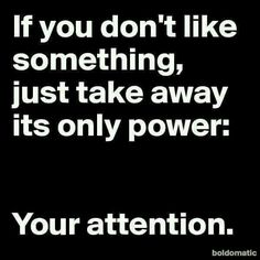 And if you can't stop paying attention, it's because you really do like it (you're just afraid to admit it).