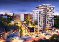 Concept Architecture, Facade Architecture, Luxury Restaurant, Apartment Complexes, Condominium, Urban Design, Mall, Multi Story Building, Lounge