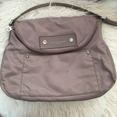 Marc by Marc Jacobs Large Messenger Worn once! The only small stains can be seen on the pics. The inside is in new condition. Marc by Marc Jacobs Bags Crossbody Bags