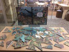 Puzzle realizado por el personal de la biblioteca para deleite de niños y padres