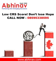 Low CRS Score! Don't lose Hope Call Now - 08595338595