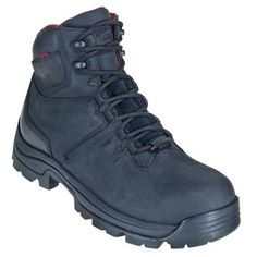 Wolverine Boots 4406 Mens Black Bonaventure Steel Toe EH Work Boots