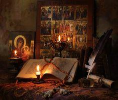 Το Ψαλτήριον | Το σπιτάκι της Μέλιας Orthodox Prayers, Orthodox Christianity, Our Lady Of Czestochowa, Prayer Corner, Home Altar, Cross Art, Byzantine Icons, Russian Orthodox, Orthodox Icons