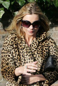 Kate Moss, 2007. via @WWD 2007, kate moss leopard, anim print, leopards, year, leopard prints, spot