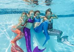 Mermaid Tails by Fin Fun Get a Real Swimmable Mermaid Tail or