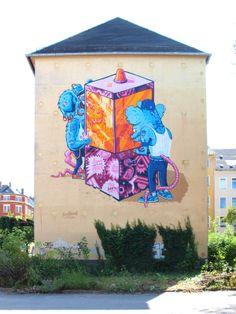 Kultursommer Chemnitz by PEACHBEACH , via Behance