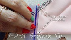 Podwijanie rogu spódnicy na raz – 1-2-3 Szyjesz Ty