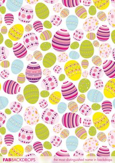 Items similar to x Easter Eggs Photography Backdrop – Easter Theme Photo Backdrop for Pictures - Vinyl or Poly - Item 1864 on Etsy Happy Easter Wallpaper, Holiday Wallpaper, Easter Backdrops, Easter Egg Designs, Easter Ideas, Easter Backgrounds, Kids Background, Themes Photo, Coloring Easter Eggs