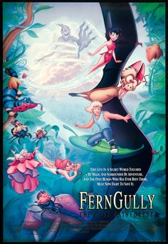 Ferngully - Maxi poster (1500x2188)