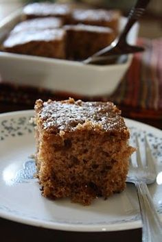 Versatile Vegetarian Kitchen: Sourdough Applesauce Spice Cake, 10 Best Applesauce Spice Cake with Cake Mix Recipes, Mini Applesauce Spice Ca. Sourdough Cake Recipe, Sourdough Recipes, Amish Recipes, Sweet Recipes, Baking Recipes, Cake Recipes, Dessert Recipes, Sourdough Bread, Bread Recipes