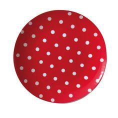Falby Porzellanteller Red Dot - Emil & Paula