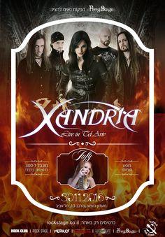 Xandria & Infy, The Zone Tel Aviv 11/30/16