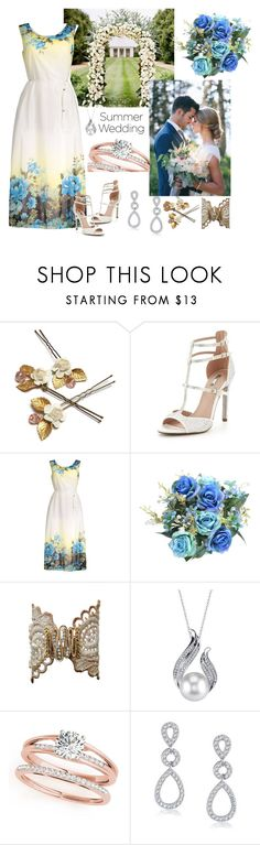 """""""Summer Wedding"""" by andrea-pok on Polyvore featuring Carvela, Bling Jewelry, love, romantic and summerwedding"""